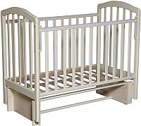 Детская кроватка Антел Алита-3/5 (слоновая кость) -