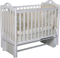 Детская кроватка Антел Каролина-3/5 (белый) -
