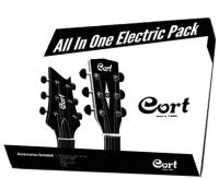 Набор аксессуаров для гитары Cort Accessory Kit EG -