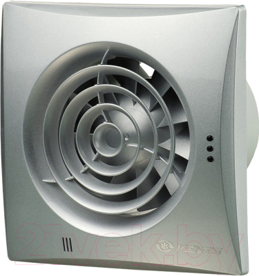 Вентилятор вытяжной Vents Квайт 100 (хром)