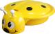Песочница-бассейн Пластик Божья коровка (желтый) -