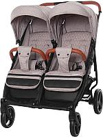 Детская прогулочная коляска Carrello Connect / CRL-5502 (Cotton Beige) -