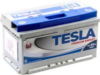 Автомобильный аккумулятор TESLA Premium Energy R / TPE85.0 low (85 А/ч) -
