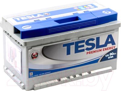 Автомобильный аккумулятор TESLA Premium Energy R / TPE90.0 low
