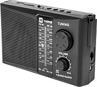 Радиоприемник Harper HDRS-288 (черный) -