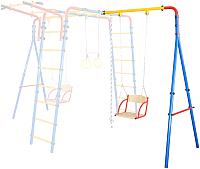 Аксессуар для детской площадки Юный Атлет Стойка (синий/жёлтый/красный) -