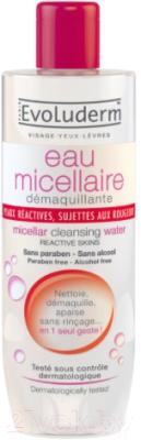 Мицеллярная вода Evoluderm Reactive Skin (100мл)