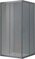 Душевой уголок Adema Glass Vierkant Line / MD1142-90 (тонированное стекло) -