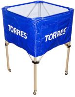 Тележка для волейбольных мячей Torres S11022 (синий/белый) -