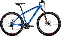 Велосипед Forward Next 27.5 2.0 Disc 2019 / RBKW9M67Q034 (15, синий) -