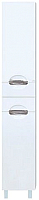 Шкаф-пенал для ванной Misty Лаванда 35 L / Э-Лав05035-011Л -