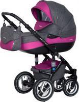 Детская универсальная коляска Riko Brano 2 в 1 (08/Magenta) -