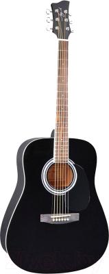 Акустическая гитара Jay Turser JJ45-BK