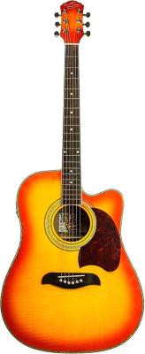 Электроакустическая гитара Oscar Schmidt OG2CEFYS