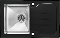 Мойка кухонная ZorG GS 7850 (черный) -