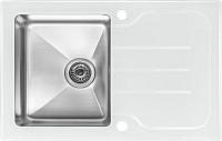 Мойка кухонная ZorG GS 7850 (белый) -
