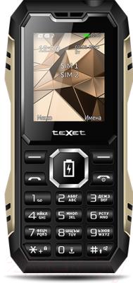 Мобильный телефон Texet TM-D429 (черный)