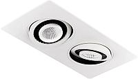 Точечный светильник Ambrella S506/2 W (белый) -