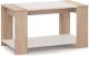 Журнальный столик Империал Аврора (дуб сонома/белый) -