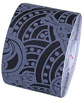 Динамический тейп Dynamic Tape ECO DT50TTEB (черный/серое тату) -