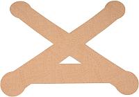 Динамический тейп Dynamic Tape PosturePals X tape PP-X-TS (р.S, 5шт, телесный) -