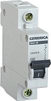 Выключатель автоматический Generica ВА 47-29 1Р 20А 4.5кА / MVA25-1-020-C -