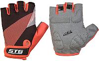 Перчатки велосипедные STG Х87912 (М, черный/красный) -