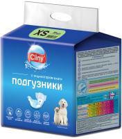 Подгузники для животных Cliny XS 2-4кг / K201 (11шт) -