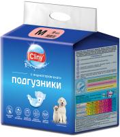 Подгузники для животных Cliny М 5-10кг / K203 (9шт) -