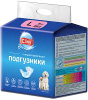 Подгузники для животных Cliny L 8-16кг / K204 (8шт) -