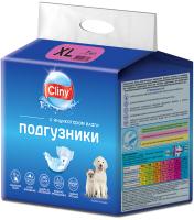 Подгузники для животных Cliny XL 15-30кг / K205 (7шт) -
