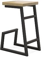 Табурет барный Millwood СДН-6 Арне (дуб натуральный/металл черный) -