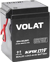 Мотоаккумулятор VOLAT 6N4-BS MF L+ (4 А/ч) -
