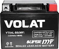 Мотоаккумулятор VOLAT YTX4L-BS MF R+ (4 А/ч) -