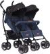 Детская прогулочная коляска EasyGo Duo Comfort (Denim) -