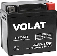 Мотоаккумулятор VOLAT YTZ7S MF R+ (6 А/ч) -