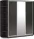 Шкаф Империал Тетрис ДЗД 210x220 (венге) -