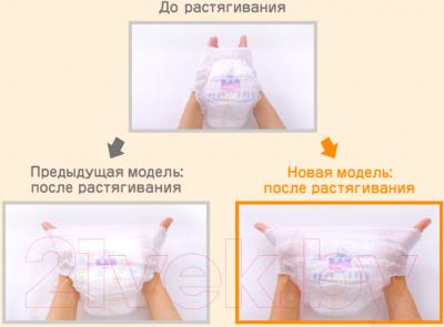 Подгузники-трусики детские Merries Box M (116шт)