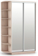 Шкаф Империал Тетрис ЗЗ Лайт 120x220 (дуб сонома) -
