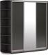 Шкаф Империал Тетрис ДЗД 210x240 (венге) -