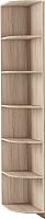 Угловое окончание для шкафа Империал Тетрис УО 30x220 (дуб сонома) -