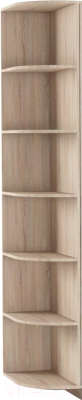 Угловое окончание для шкафа Империал Тетрис УО 30x220 (дуб сонома)