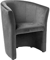 Кресло мягкое Signal TM-1 Velvet (Bluvel14 серый) -