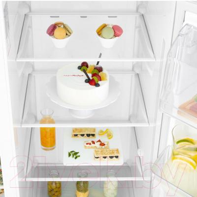 Холодильник с морозильником LG GC-B247SVUV