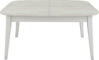 Обеденный стол Васанти Плюс Дорн ДН-01 (древесина белая/белый) -