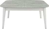 Обеденный стол Васанти Плюс Дорн ДН-03 (урбан лайт/белый) -