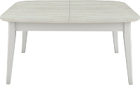 Обеденный стол Васанти Плюс Дорн ДН-05 (древесина белая/белый) -