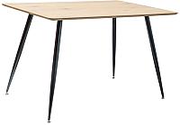 Обеденный стол Signal Remus 120 (дуб/черный) -