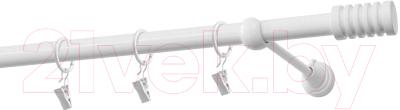 Карниз для штор Gardinia Порто D19 / 48-2029460 (белый)